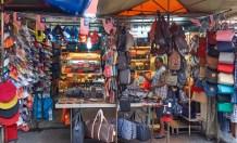 Bag shop during market time