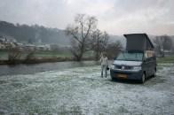 Winter in Reisdorf, Luxembourg