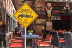 Croc on the menu