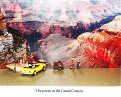 The peeps at the Grand Canyon by Carol Stetser.