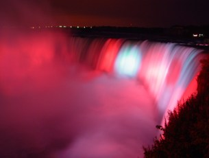 Niagara Falls Illuminated (From Niagaraparks.com)