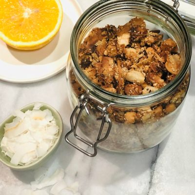 Macadamia & Orange Granola