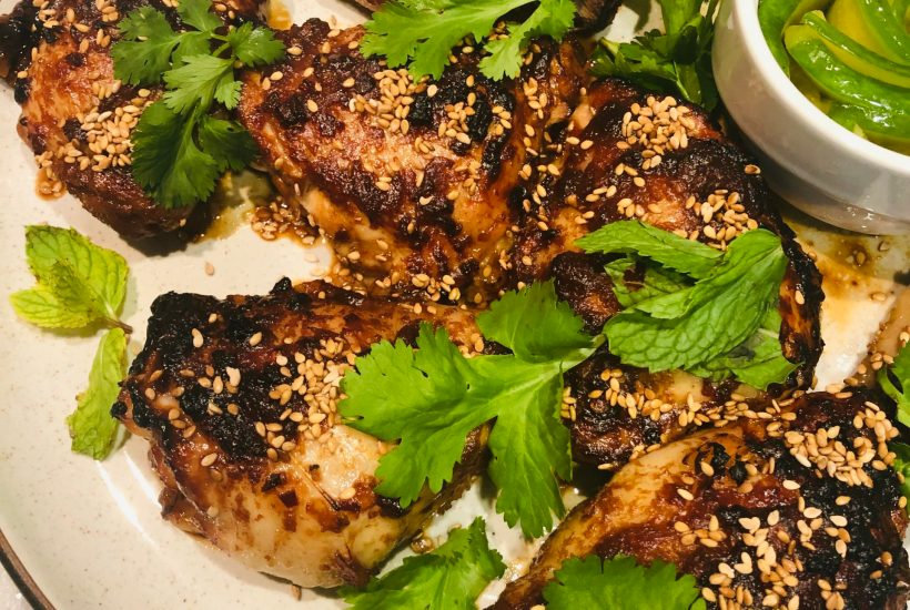 Spicy Miso Chicken