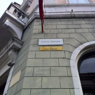 Trieste street name