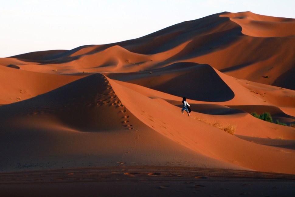 immensite sablee