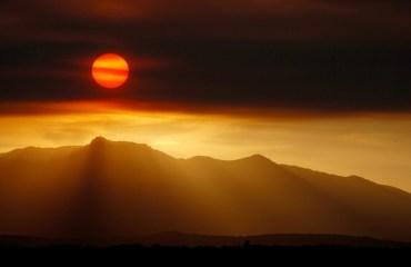 Peña de Francia 4 - Puesta de Sol desde La Alberca