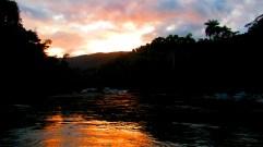 Atardecer en el rio Duaba (Baracoa, Cuba)