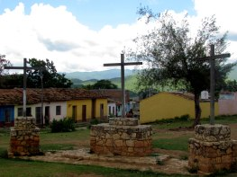 Plaza delas 3 cruces (Trinidad, Cuba) A.VivesPhotos©
