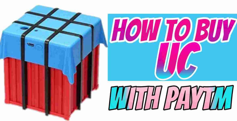 HowTo Buy Uc From Paytm- जाने PUBG Royal Pass कैसे खरीदे?