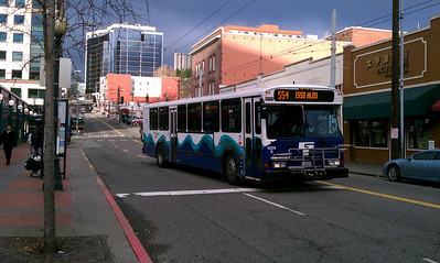 Sound Transit #554 Issaquah Highlands