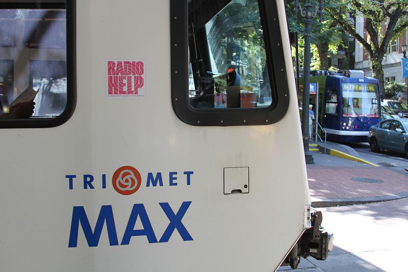 A little streetcar & a little MAX