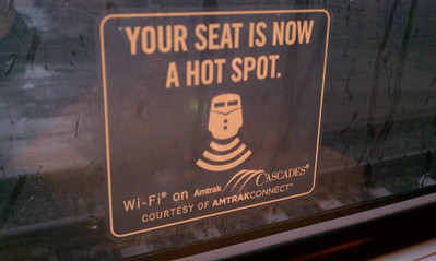 Amtrak Wifi!
