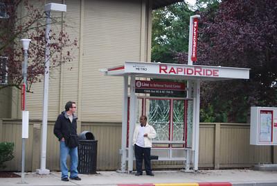 B-Line Bus Stop