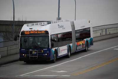 #510 Coming to the Transit Center for the South Bound Trip to Seattle