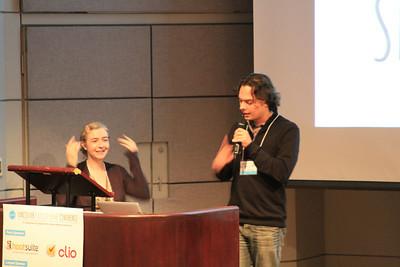 Tea & Chris kick off Polyglot Conference 2013!