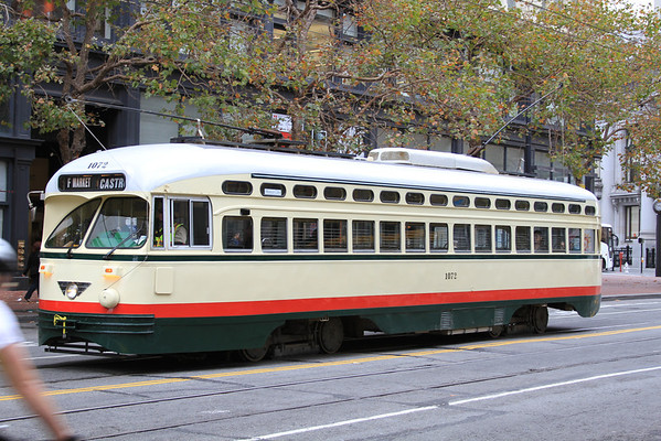 San Francisco Streetcar o' the PCC Era