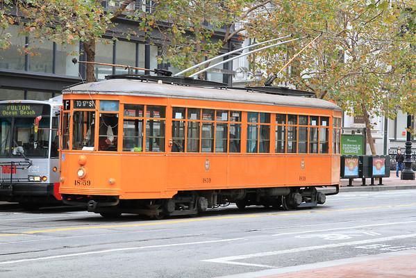 San Francisco, Italian Streetcar