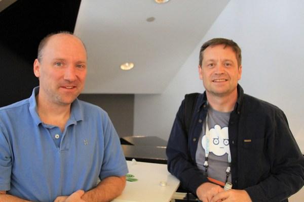 George Reese @georegereese & James Urquhart @jamesurquhart