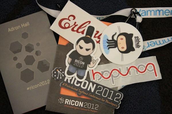 RICON 2012 SWAG.