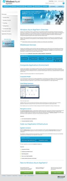 Windows Azure AppFabric Site