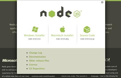 Node.js Download Link...