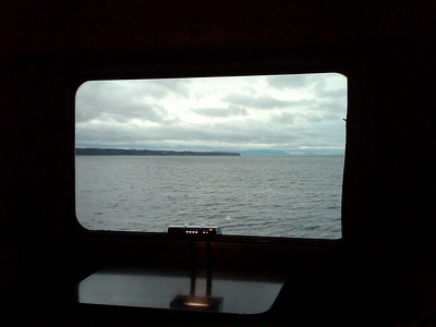 Sea From the Train