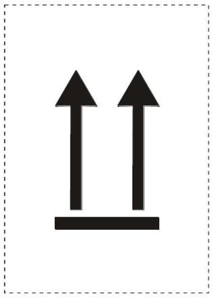 Álló helyzetet jelző nyilak (2. változat)