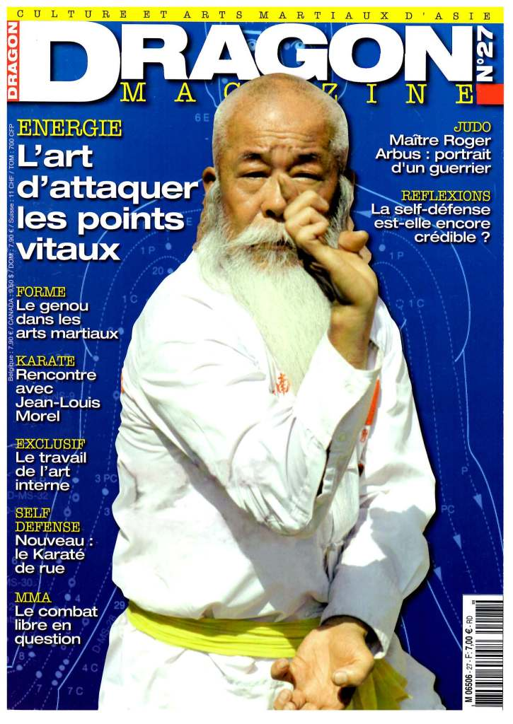 dragon magazine, arts martiaux, adrv, eric garnier sinclair, self défense,