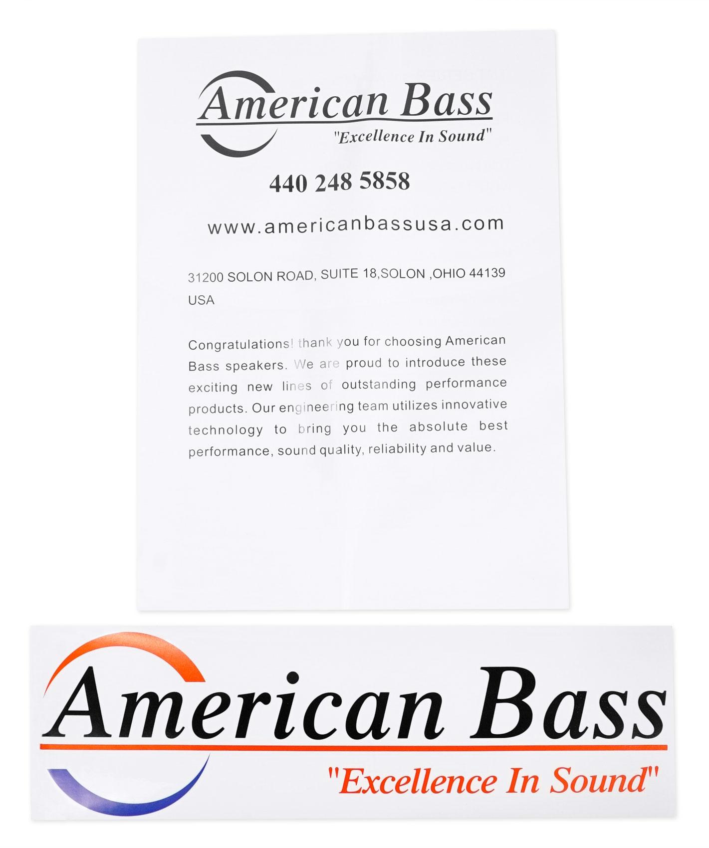 2 American Bass Tnt Watt 10 Dvc 4 Ohm Car