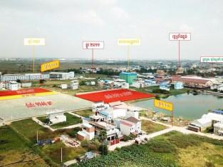 9946 Sqm land for urgent sale near Borey Chhouk Va II