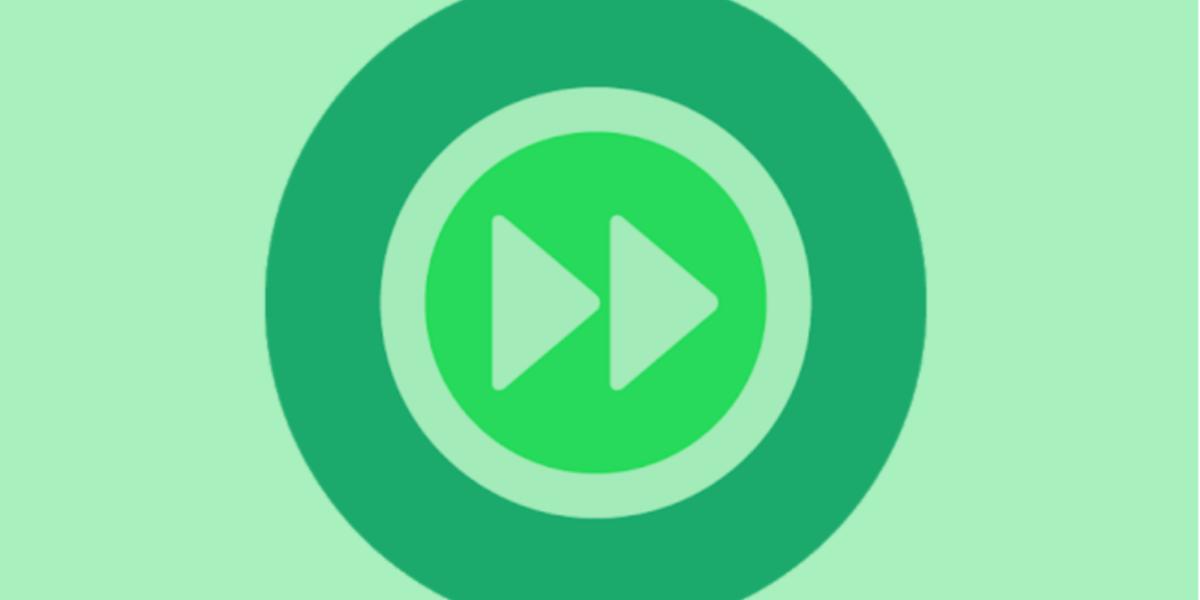 WhatsApp prueba tres velocidades de reproducción para los audios