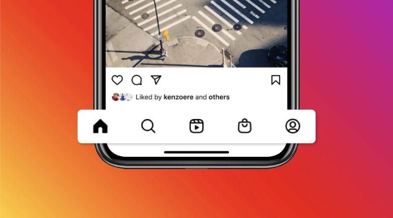 Instagram cambia su menú inferior y añade pestañas de Reels y Shops