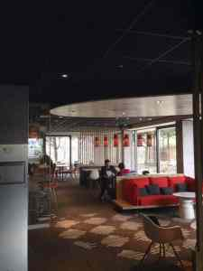 Commercial Lighting At Lounge