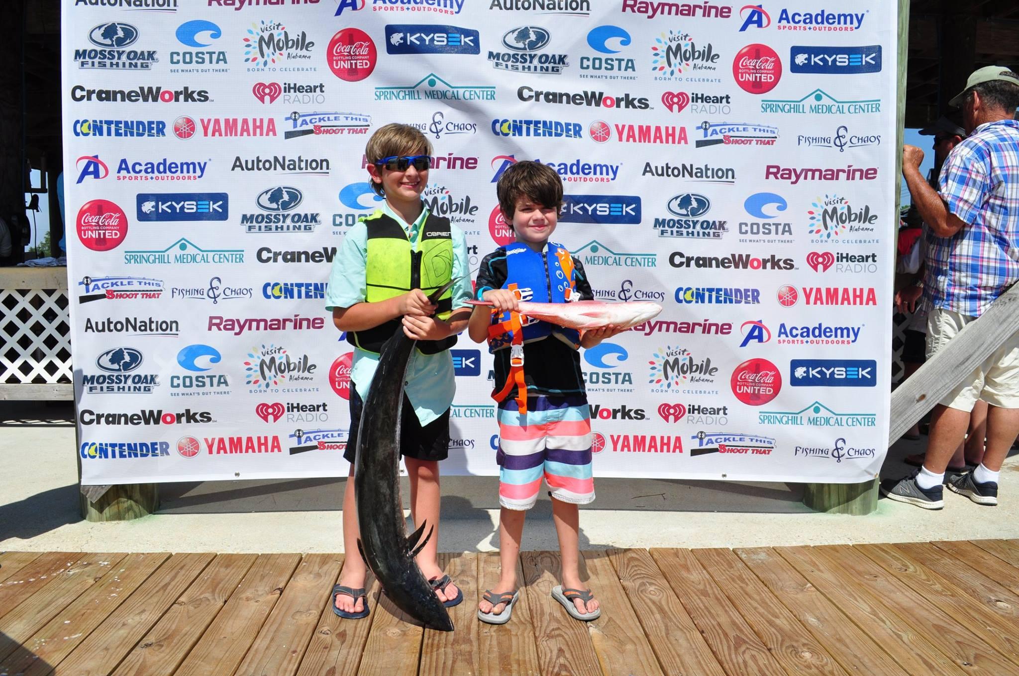 Roy Martin Young Anglers Tournament Alabama Deep Sea