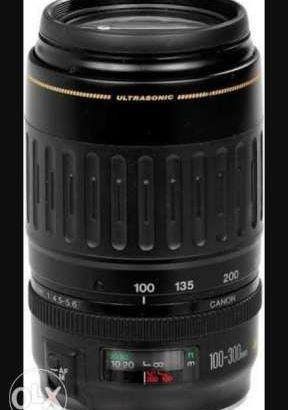 Canon lens 100-300 macro