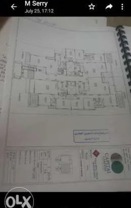 شقة ارضى168م بحديقة118م بحرى بتقسيم متميز بكمبوند كابيتال جاردن