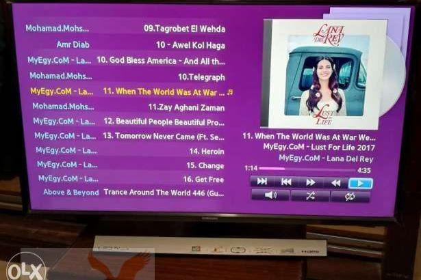تلفزيون سامسونج 32 بوصة اتش دي ال اي دي مع رسيفر مدمج – UA32J4170ASXE