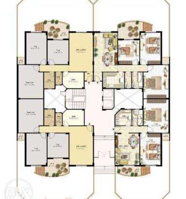شقة92متر+50متر حديقة خاصة بتتكون من2غرف نوم+حمام بالمرحلة العاشرة