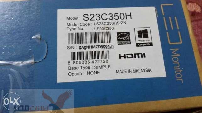 شاشة كمبيوتر سامسونج 23 led full HD