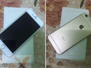 للبيع i phone 6 64g حالتة ممتازة بدون اي عيوب