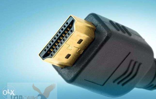 كابل HDMI اصلي بتاع بلايستيشن Ps3 الـ كان جي معاه