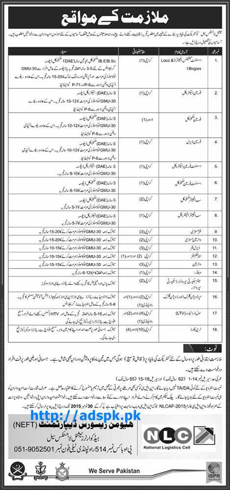 Latest Jobs of NLC Jobs 2015 for Assistant Maintenance Engineer (Loco & Bogies) Foreman (Electrical Mechanical Diesel) and other Staff Last Date 30-11-2015 Apply Now