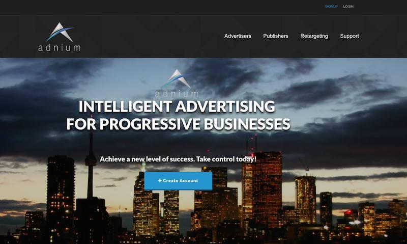 adnium homepage