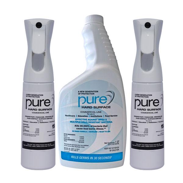 PURE Hard Surface Disinfectant Quart+2-Spray Kill Coronavirus