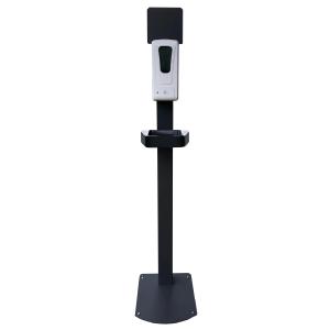 Stand mounted sanitizer dispenser