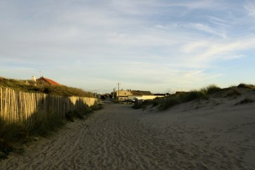 Accès aux dunes