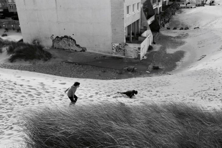 Dunes course enfant