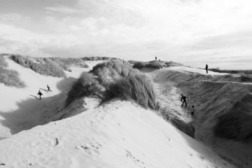 Dunes - jeux d'enfants