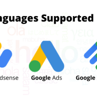 Language Supported By Google AdSense , Google AdExchange and Google Ads (AdWords) List