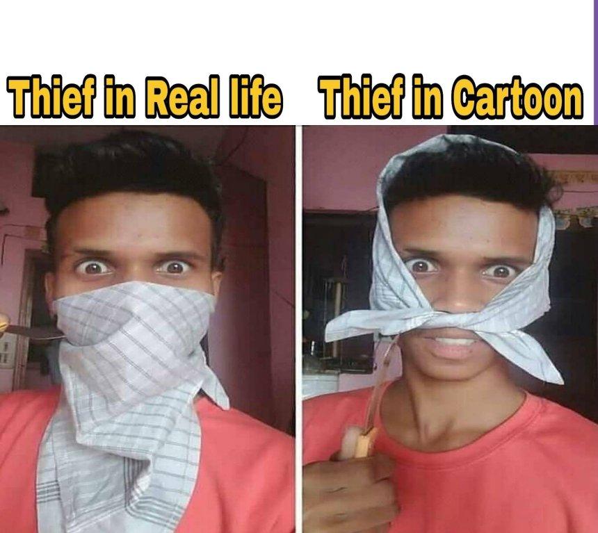 Sarcastic memes #Thief